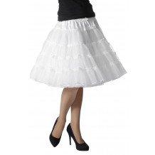 Witte petticoat