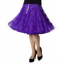 Paarse petticoat
