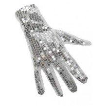 Zilveren handschoen