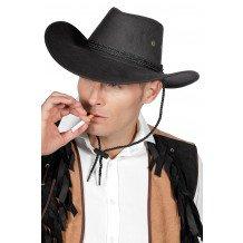 zwarte cowboyhoed