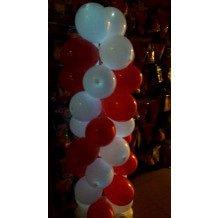 Lichtgevende Ballonnenpaal