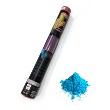 Color Powder Shooter 40 cm Blue 350 gram