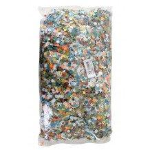 Confetti kantig bont 100 zakjes van 100 gram
