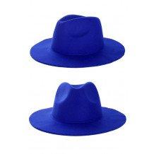 Cowboy flap hoed blauw
