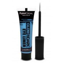 Glow in the dark eyeliner UV neon blauw