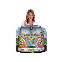 Fotoachtergrond hippiebus