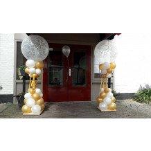 gouden bruiloft ballonnen