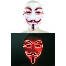 Masker Vendetta led verlichting 3 standen