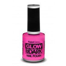Glow in the dark nagellak UV neon pink