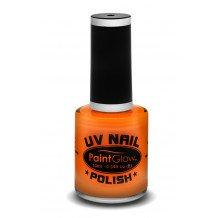 Neon UV nagellak oranje