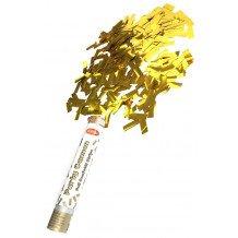 Party cannon Goud folie 30 cm