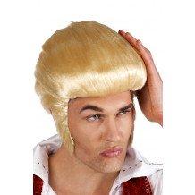 Pruik Rocking Billy blond