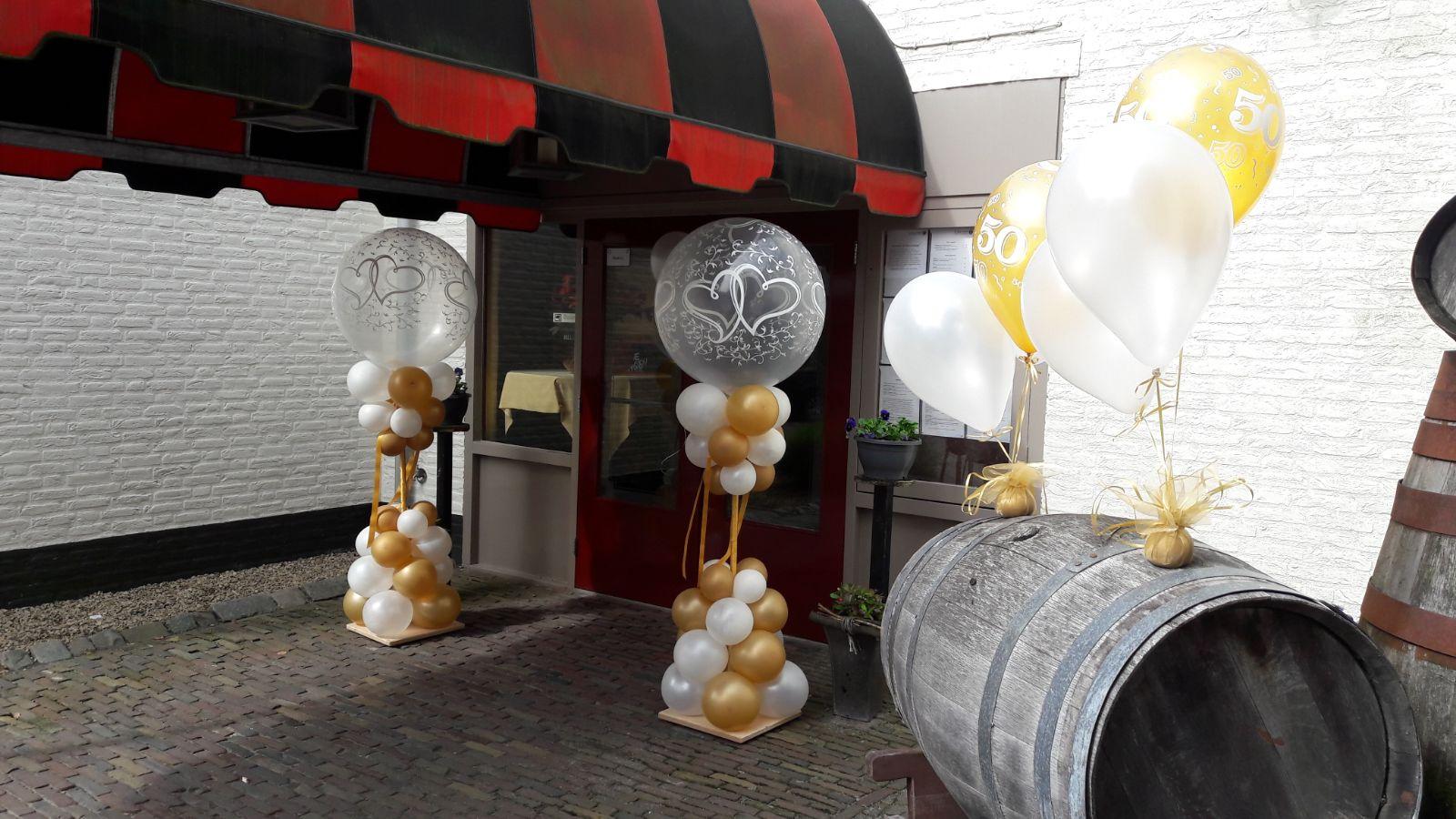 aankleding met ballonnen