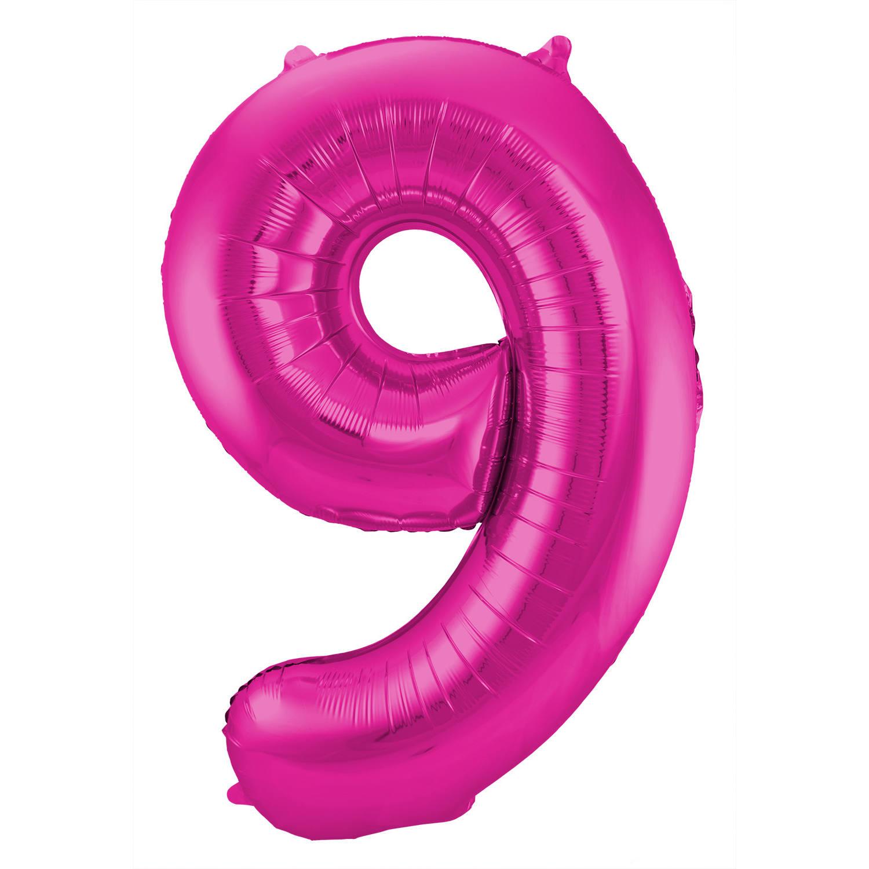 Cijferballon 9