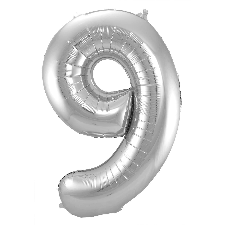 Ballon in de vorm van een cijfer
